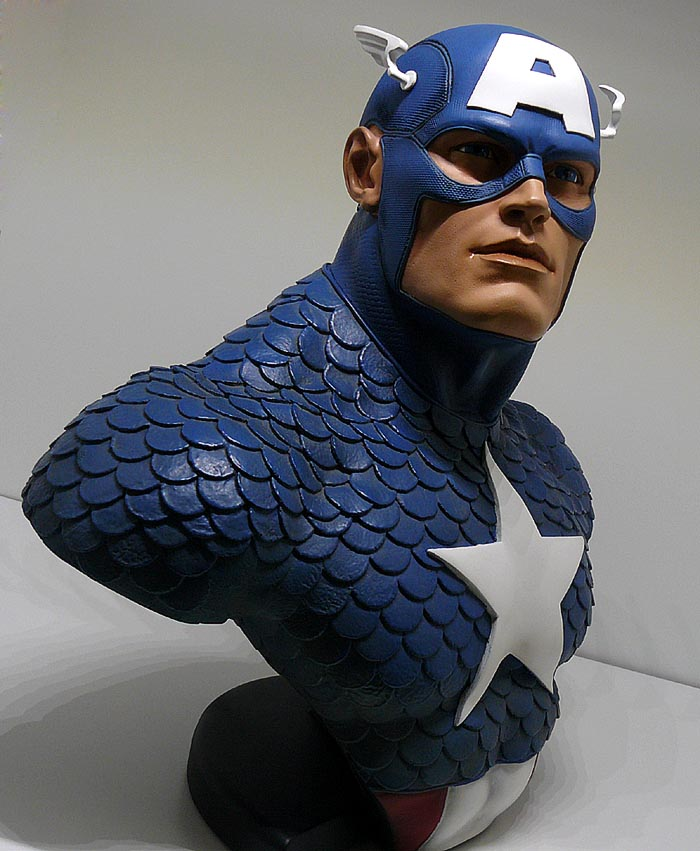 CAPTAIN AMERICA Legendary scale bust P1050002-159755e