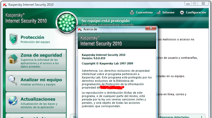 Kaspersky Internet Security 7.0.0.55