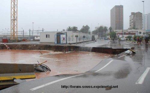 Photos de Casablanca sous le deferlement du Deluge Mimouni_i1-8--2341188