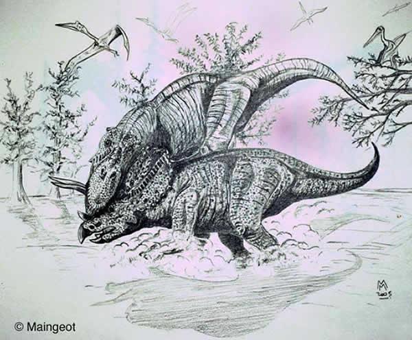 Histoire de page 298 - Dessin de tyrannosaure ...