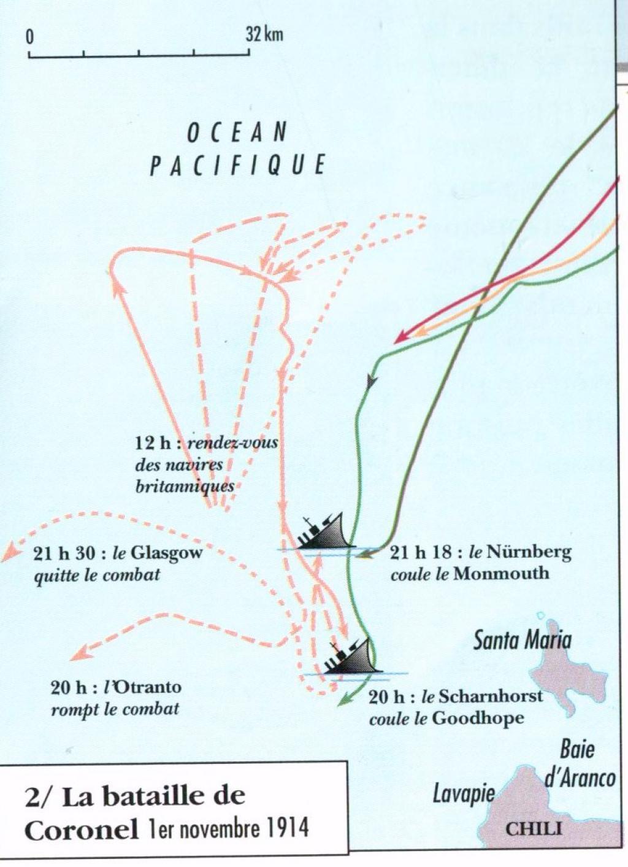 La guerre dans les colonies allemandes : Tsing Tao et l'escadre du Pacifique  004-fc5ba3