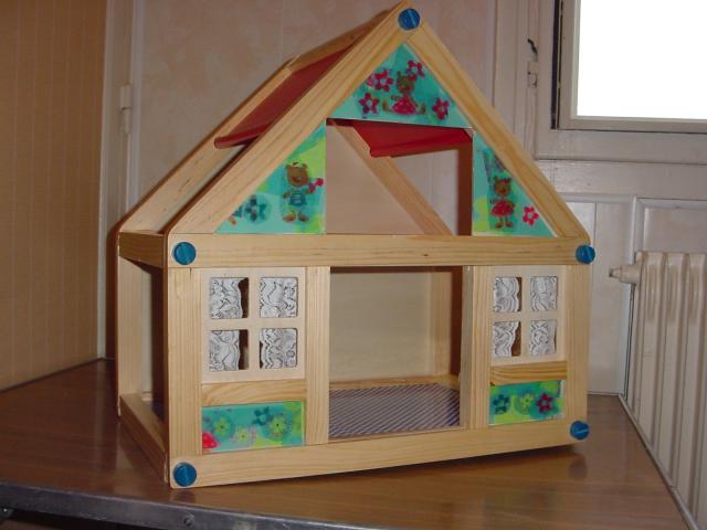 petite maison de poup es en kit suite loisirs passions chez jo. Black Bedroom Furniture Sets. Home Design Ideas