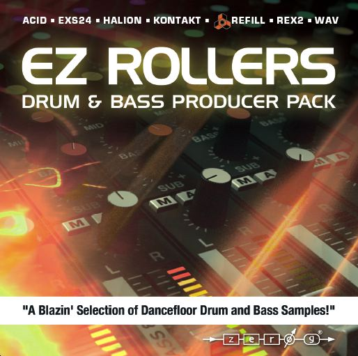 ZERO-G EZ ROLLERS DRUM & BASS PRODUCER PACK