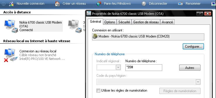 Internet 3g iam sur votre gsm Nokia 91-2370945